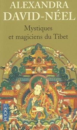 Couverture du livre : Mystiques et magiciens du Tibet