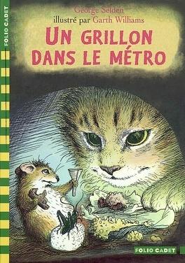 Couverture du livre : Un grillon dans le métro