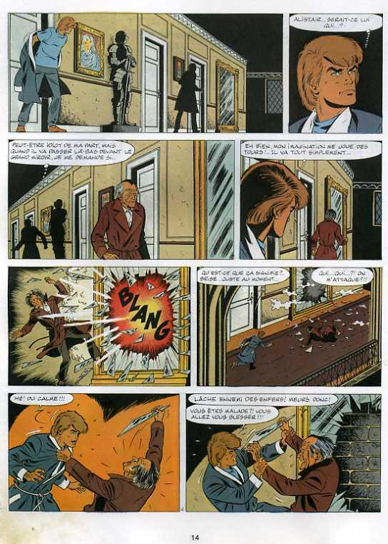 Couvertures Images Et Illustrations De Ric Hochet Tome 34 La Nuit Des Vampires De Tibet Andre Paul Duchateau