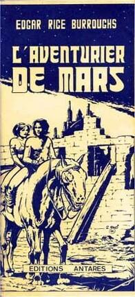 Couverture du livre : Le Cycle de Mars, tome 7 : L'Aventurier de Mars