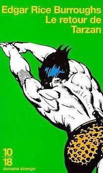 Couverture du livre : Tarzan, tome 2 : Le retour de Tarzan