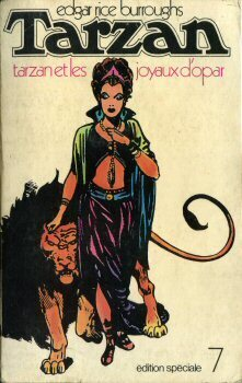 Couverture du livre : Tarzan, tome 5 : Tarzan et les joyaux d'Opar