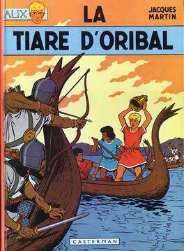 Couverture du livre : Alix, tome 4 : La Tiare d'Oribal