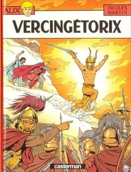 Couverture du livre : Alix, tome 18 : Vercingétorix