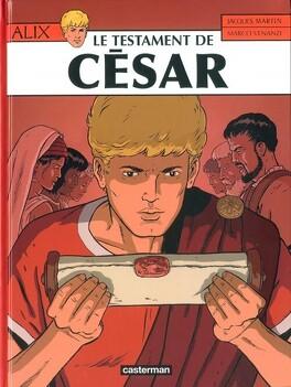 Couverture du livre : Alix, tome 29 : Le Testament de César