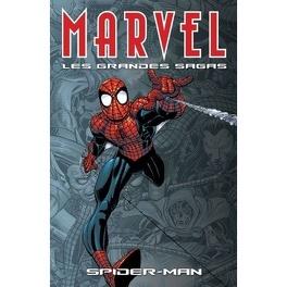 Couverture du livre : Marvel les grandes sagas tome 01 Spider-Man