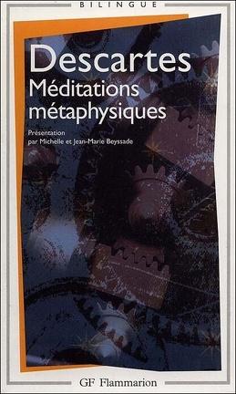 Couverture du livre : Méditations métaphysiques
