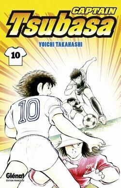 Couverture du livre : Captain Tsubasa, Tome 10