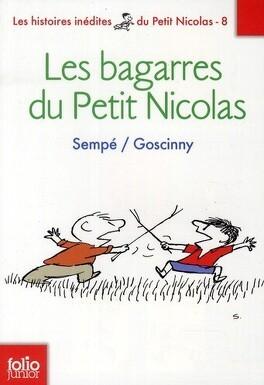 Couverture du livre : Les bagarres du petit Nicolas