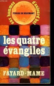 Couverture du livre : les 4 évangiles aux hommes d'aujourd'hui