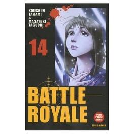 Couverture du livre : Battle Royale, tome 14