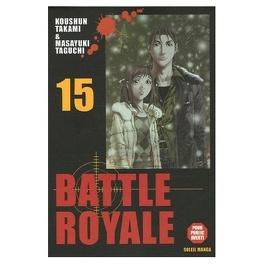 Couverture du livre : Battle Royale, tome 15