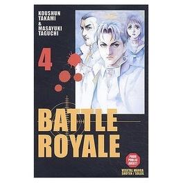 Couverture du livre : Battle Royale, tome 4