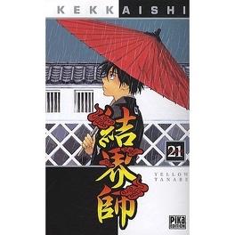 Couverture du livre : Kekkaishi, Tome 21