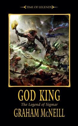Couverture du livre : La légende de Sigmar, Tome 3 : Le Roi Dieu