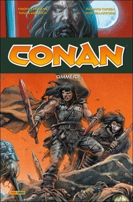 Couverture du livre : Conan, Tome 6 : Cimmérie