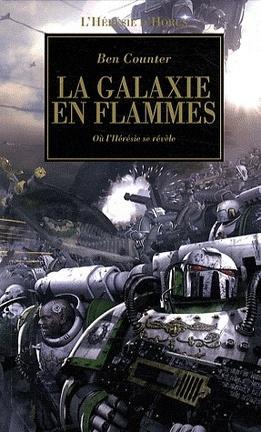 Couverture du livre : L'Hérésie d'Horus, tome 3 : La Galaxie en Flammes