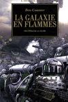 couverture L'Hérésie d'Horus, tome 3 : La Galaxie en Flammes
