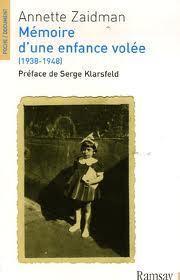 Couverture du livre : Mémoire d'une enfance volée (1938-1948)
