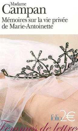 Couverture du livre : Mémoires sur la vie privée de Marie-Antoinette