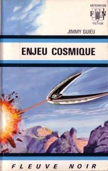 Couverture du livre : Enjeu cosmique