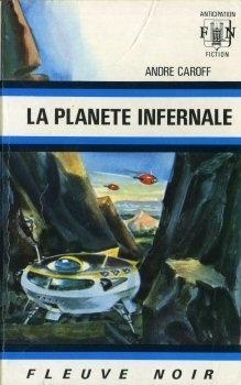 Couverture du livre : La Planète infernale