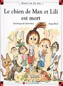 Couverture du livre : Le chien de Max et Lili est mort