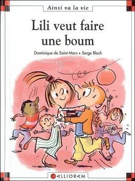 Couverture du livre : Lili veut faire une boum