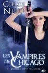 couverture Les Vampires de Chicago, Tome 3 : Mordre n'est pas jouer