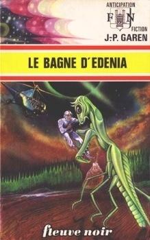 Couverture du livre : Le Bagne d'Edenia