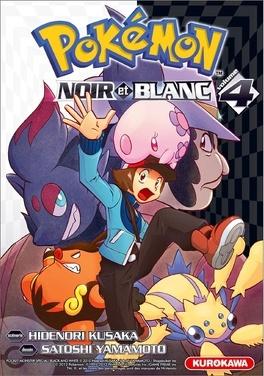 Couverture du livre : Pokemon Noir et Blanc, Tome 4