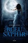 couverture La Trilogie des gemmes, Tome 2 : Bleu saphir