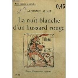 Couverture du livre : La nuit blanche d'un hussard rouge