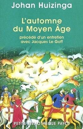 Couverture du livre : L'automne du Moyen Age