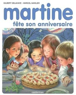 Couverture du livre : Martine fête son anniversaire