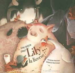 Couverture du livre : Une lettre pour Lily la licorne !