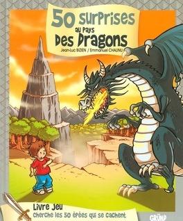 Couverture du livre : 50 surprises au pays des dragons