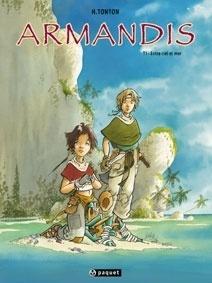 Couverture du livre : Armandis, tome 1 : Entre ciel et mer