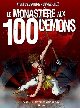 Couverture du livre : Le monastère aux 100 démons
