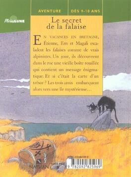 Couverture du livre : Le secret de la falaise