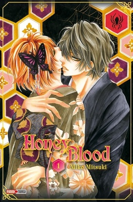 Couverture du livre : Honey Blood, Tome 1