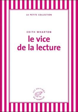 Couverture du livre : Le vice de la lecture