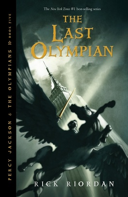 Couverture du livre : Percy Jackson and the Olympians, book 5 : The Last Olympian