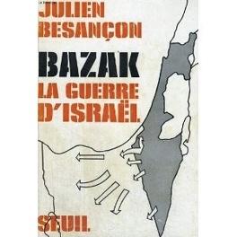 Couverture du livre : Bazak : La guerre d'Israël