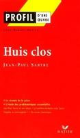 Profil – Jean-Paul Sartre : Huis clos