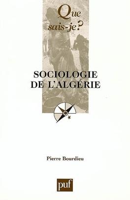 Couverture du livre : Sociologie de l'Algérie