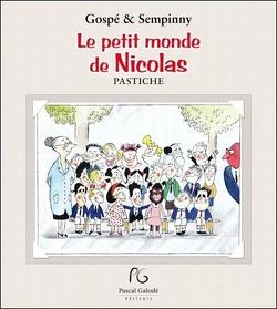 Couverture de Le petit monde de Nicolas :pastiche