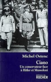 Couverture du livre : Ciano, un conservateur face à Hitler et Mussolini