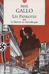 couverture Les Patriotes, tome 2 : La Flamme ne s'eteindra pas