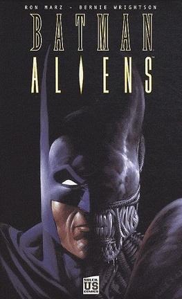 Couverture du livre : Batman/Aliens